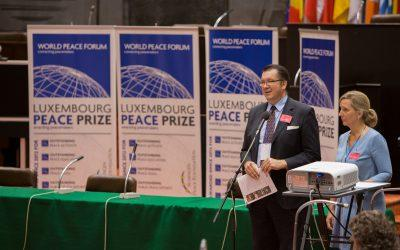 Luxembourg Celebrates the 6th Annual Luxembourg Peace Prize