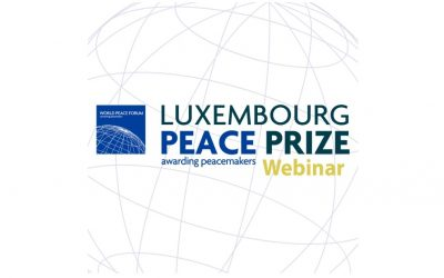 """Luxembourg Celebrates the9th Annual Luxembourg Peace Prize """"Peace and Covid"""""""